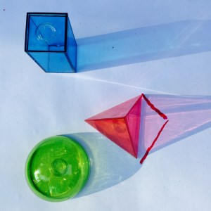 geometric solids, light, STEAM KIDS, Wee Warhols, Austin