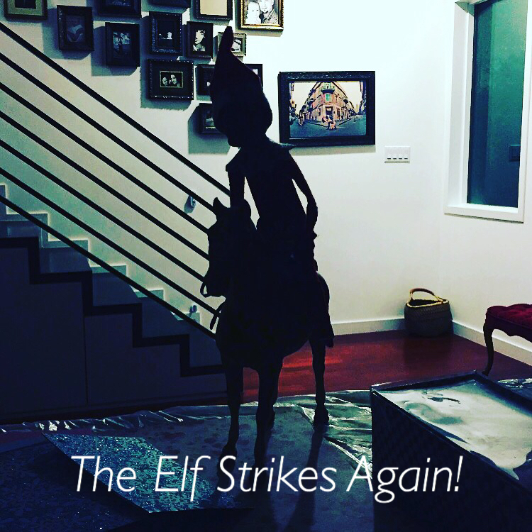 Elf on the shelf, elf, Wee Warhols, Austin tx, Christmas tradition, holiday season, top secret operation, santa's helper
