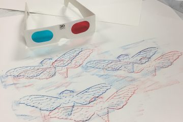 3D, physics, Figment Creative, Art Class, Austin TX, STEAM, STEM, stereoscopic vision