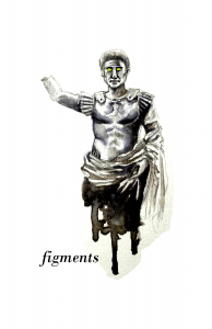figments cover-Issue III (alternate, green eyes)