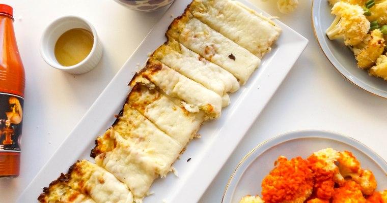 Cheesy Cauliflower Bread