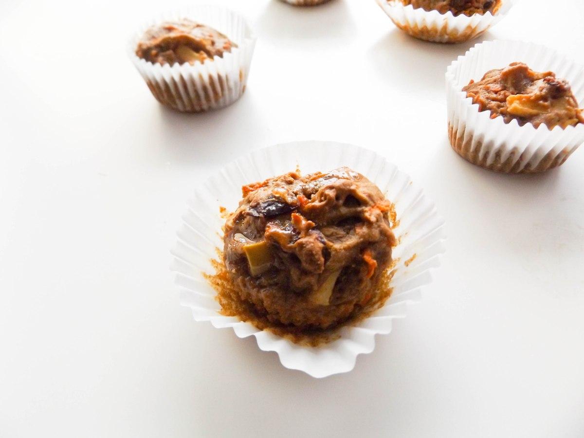 Apple Nut Cake With Brown Sugar Glaze