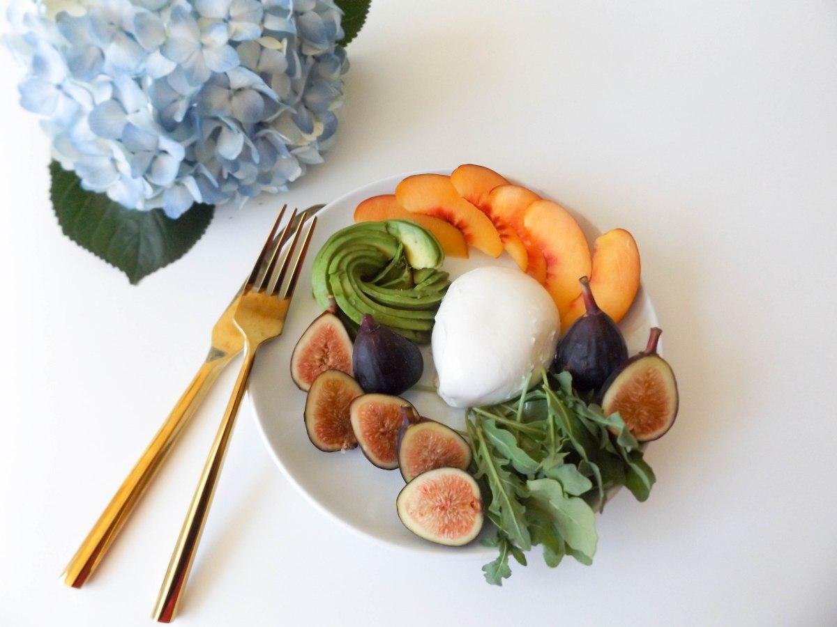 fig avo buratta nectarine salad (1 of 1)-6