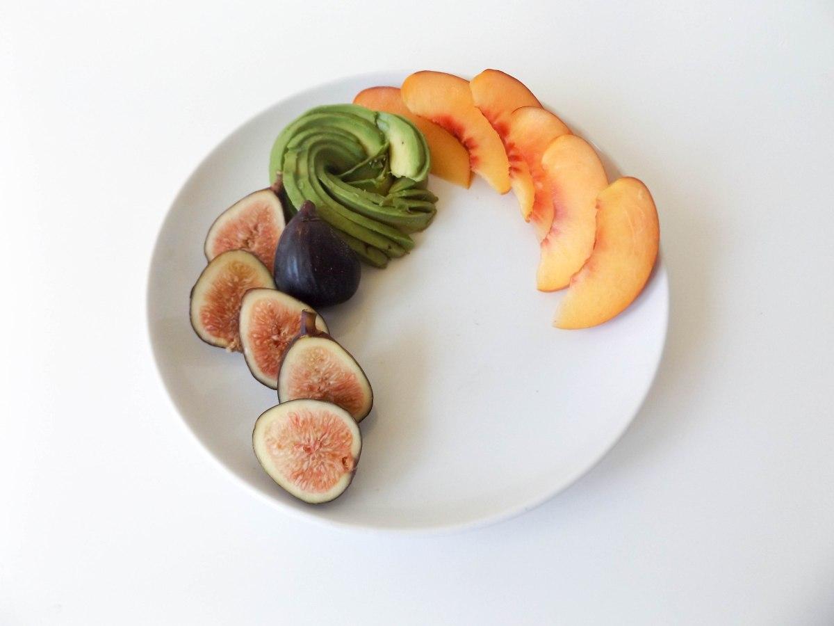 fig avo buratta nectarine salad (1 of 1)