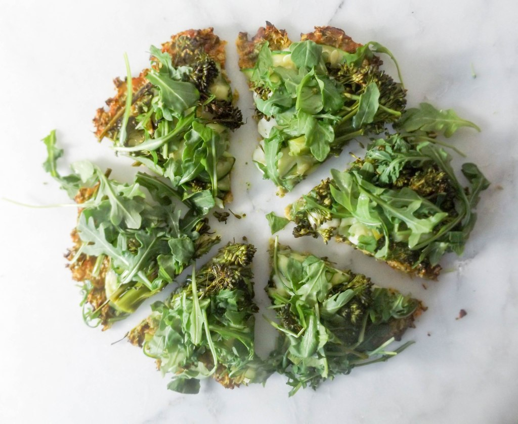 Super Greens Pizza