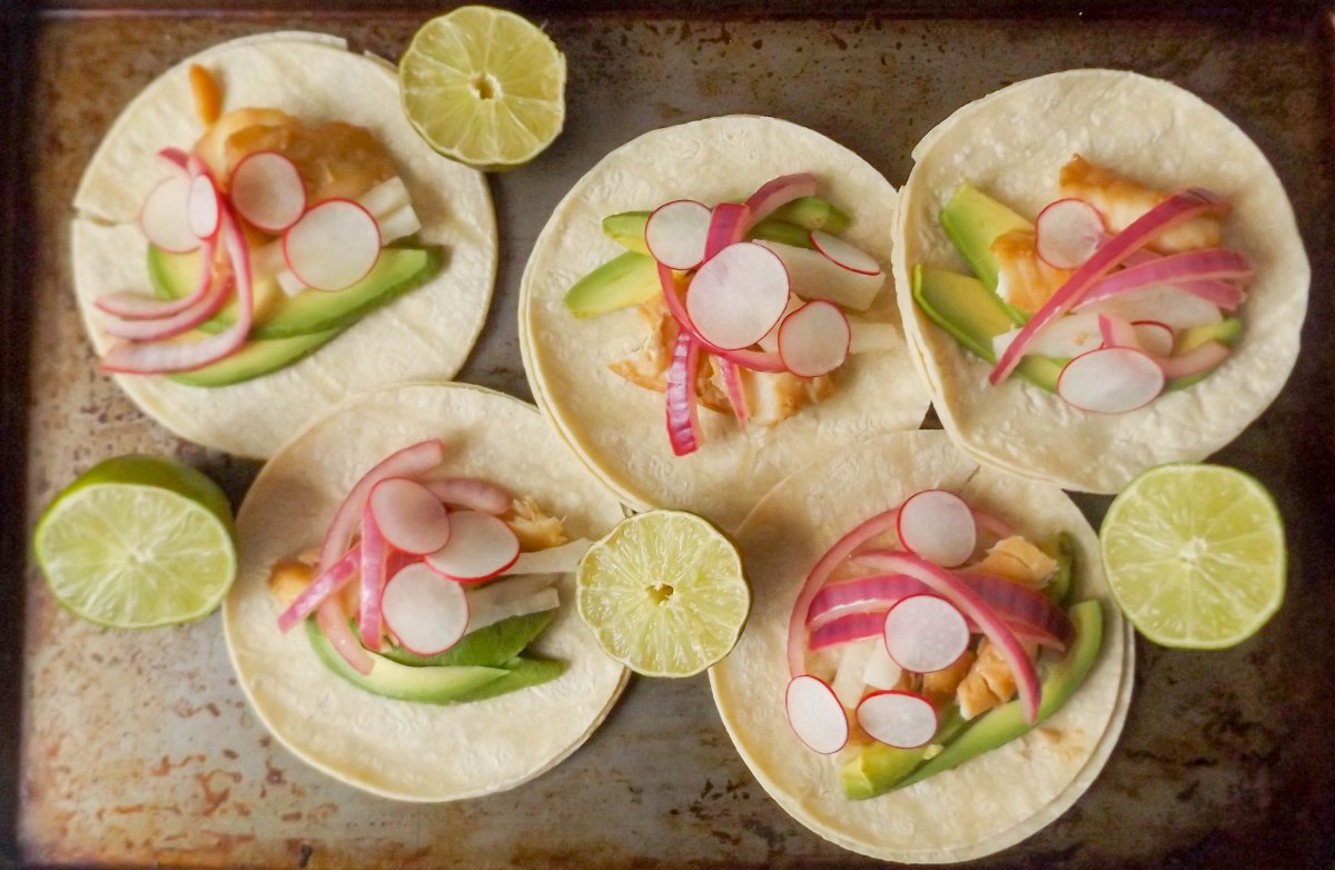 fish tacos with jicama radish slaw-4