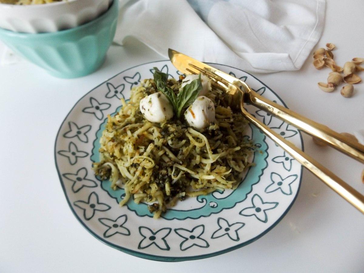 parsnip noodles pistachio pesto-4