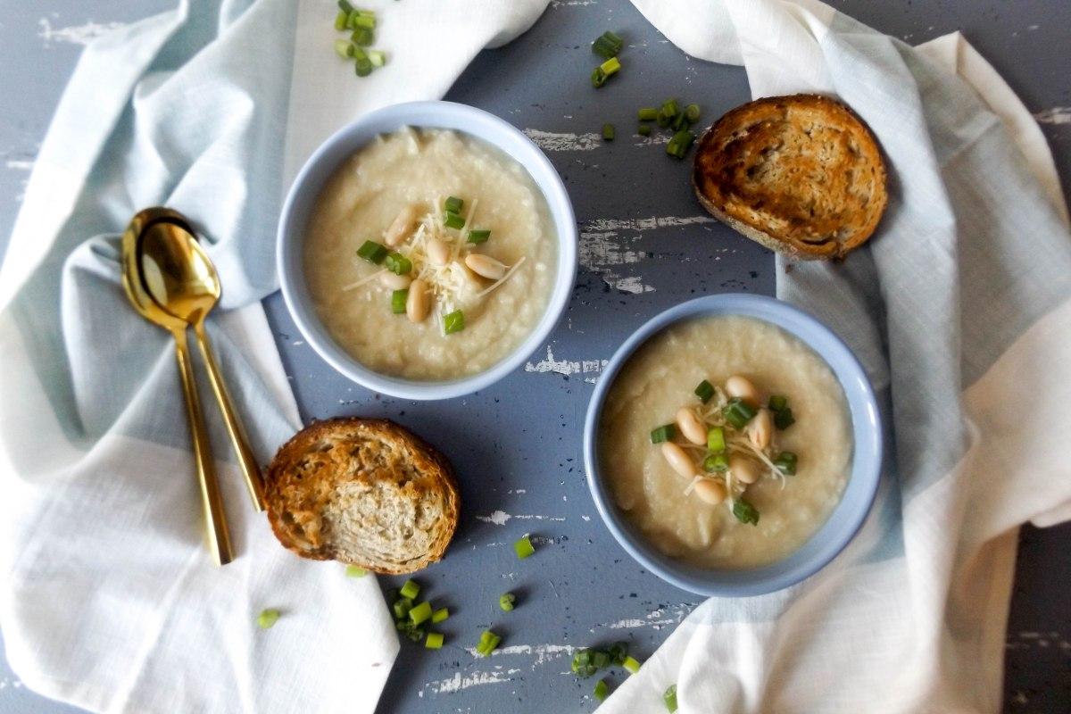 Parsnip White Bean Soup