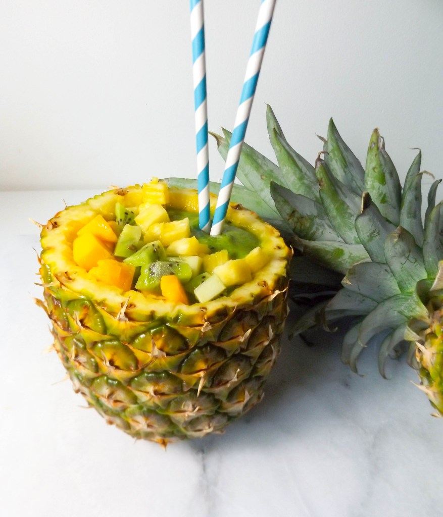Pineapple Mango Green Smoothie