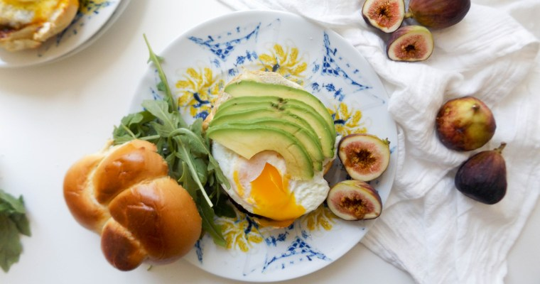 Fig Jam & Brie Breakfast Sandwich