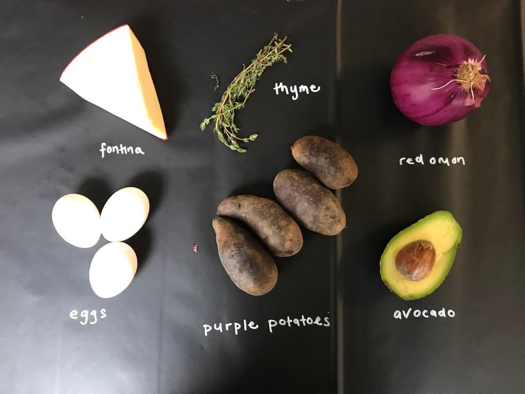 Purple Tortilla Espanola