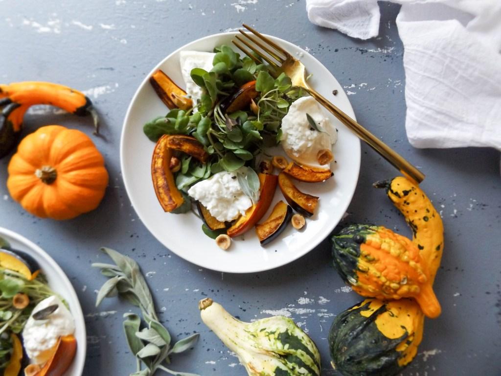Seasonal Pumpkin Burrata