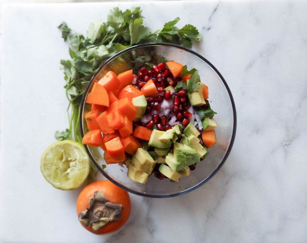 Persimmon Winter Salsa