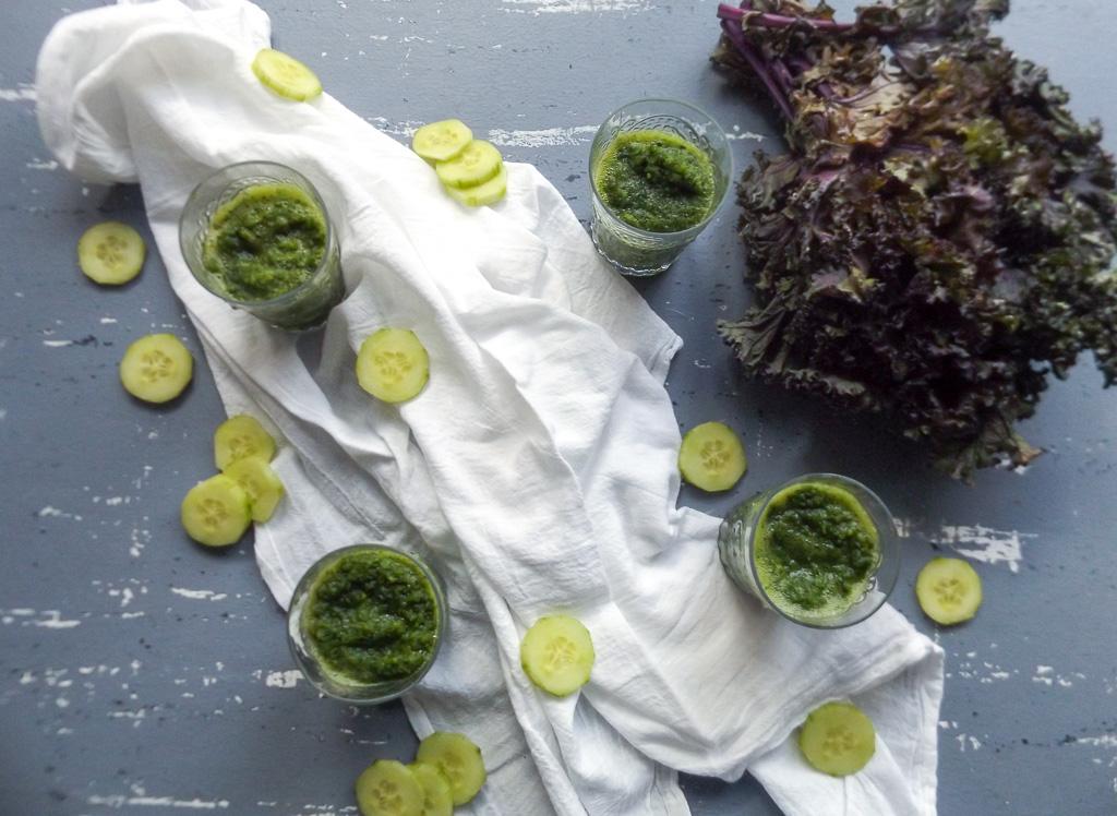Kale Apple Cucumber Green Drink