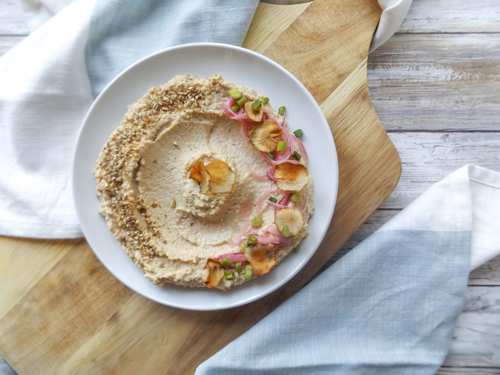 Sunchoke & Dukkah Hummus