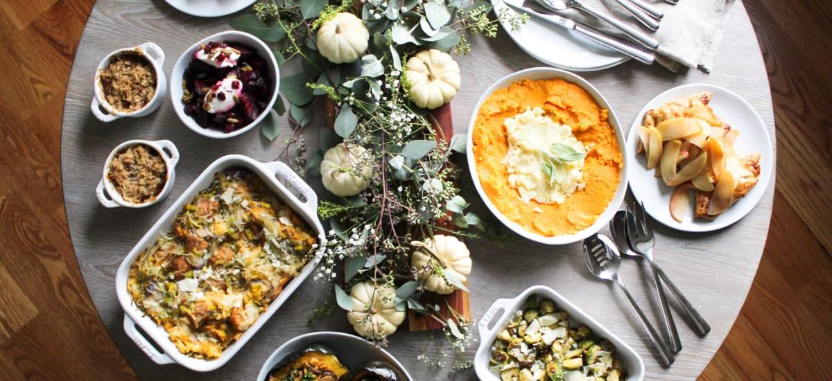 Figs & Flour 2019 Thanksgiving Meneu