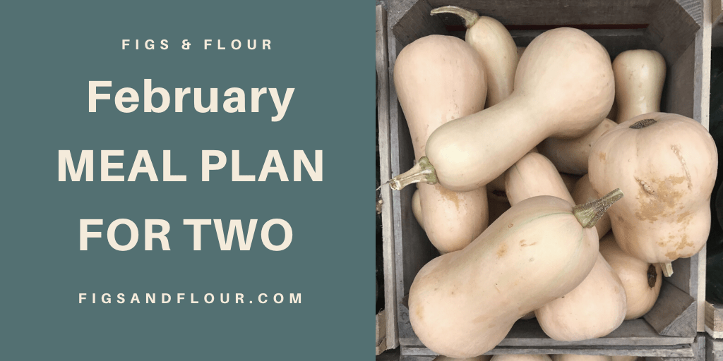 February Meal Plan for 2