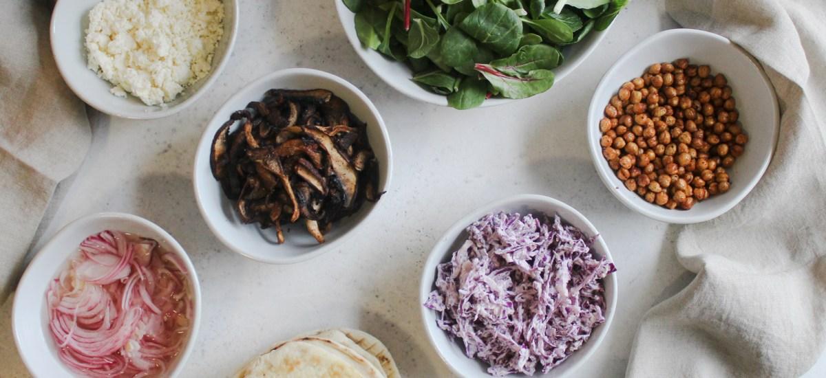 Mushrrom Shawarma