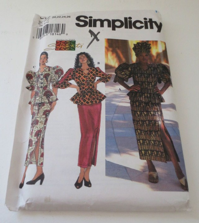 African Dress Patterns For Sewing New Simplicity Shanti African Skirt Top Sewing Pattern 9623 Uncut