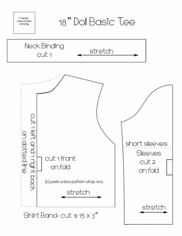 American Girl Doll Sewing Patterns Living A Dolls Life Free Patterns