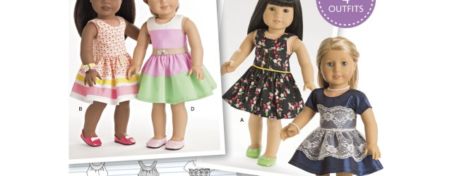 American Girl Doll Sewing Patterns Simplicity 8192 American Girl Doll Clothes For 18 Doll