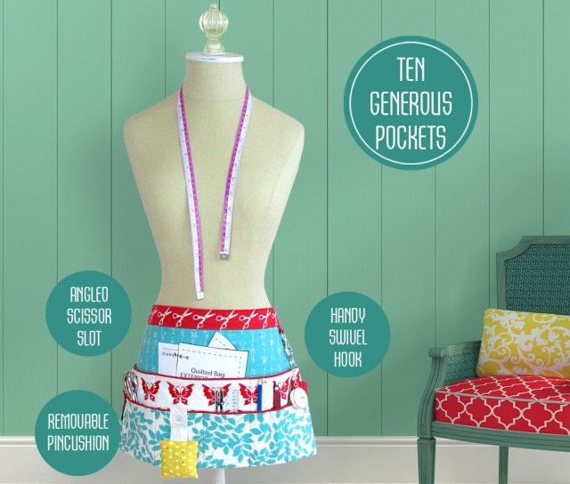 Apron Sewing Pattern Sewing And Craft Half Apron Sew4home