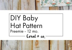 Baby Hat Sewing Pattern Easiest Ba Hat Sewing Pattern Ever Sewing Projects Sewing Is
