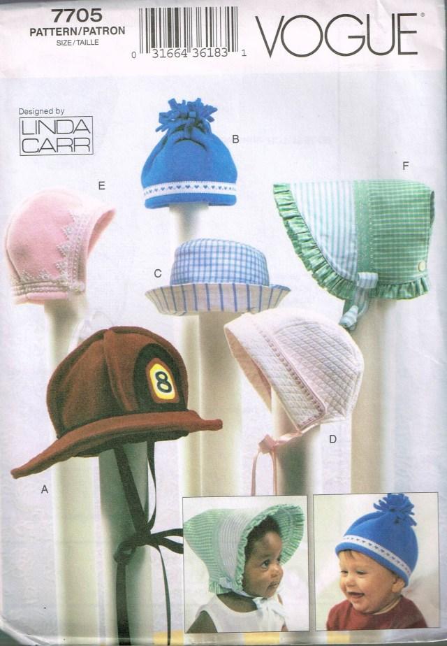 Baby Hat Sewing Pattern Size Nb B Ba Hat Sewing Pattern Ba Bonnet Pattern Ba Etsy