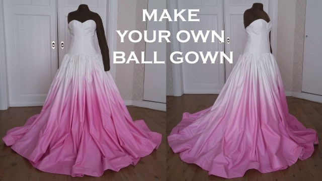 Ball Gown Sewing Patterns Diy Promwedding Ball Gown Dress Sew Along Youtube