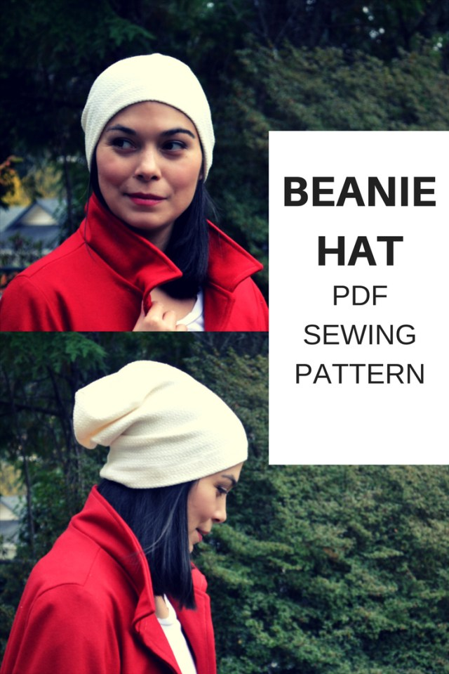 Beanie Sewing Pattern Beanie Hat Free Sewing Pattern On The Cutting Floor Printable Pdf