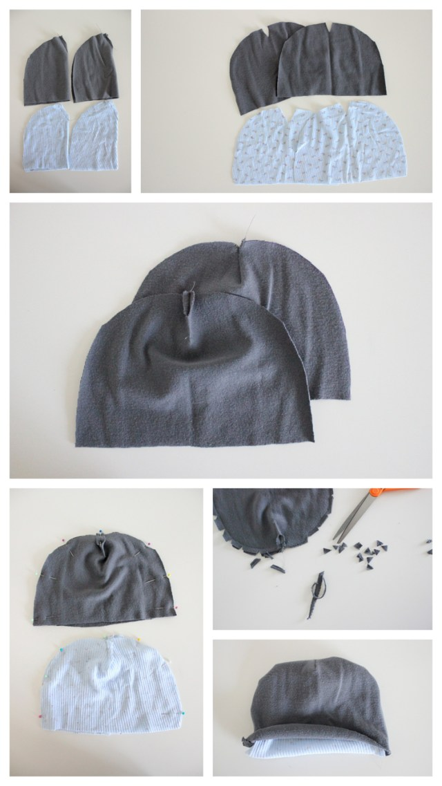 Beanie Sewing Pattern Ribbed Beanie Free Pattern And Tutorial