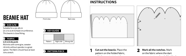 Beanie Sewing Pattern Video How To Sew A Beanie Last Stitch
