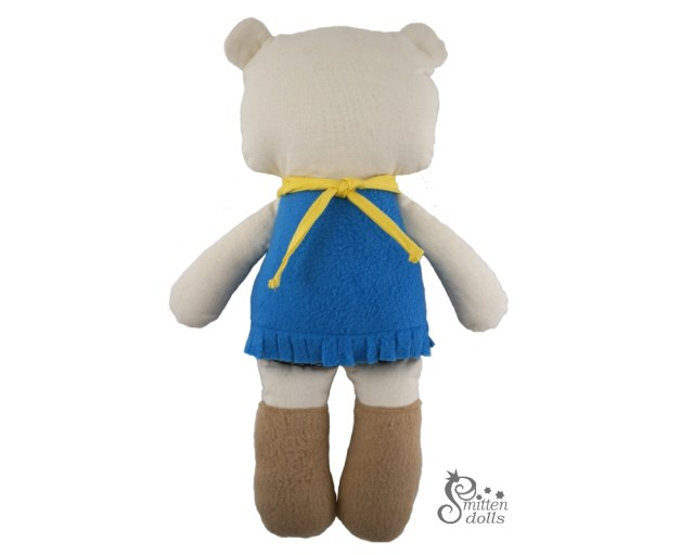 Bear Sewing Pattern Bear Sewing Pattern Smitten Dolls
