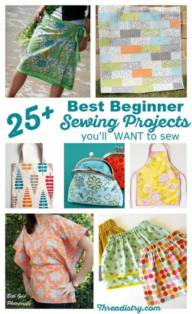 Beginner Sewing Patterns 25 Best Absolute Beginner Sewing Projects Youll Want To Sew