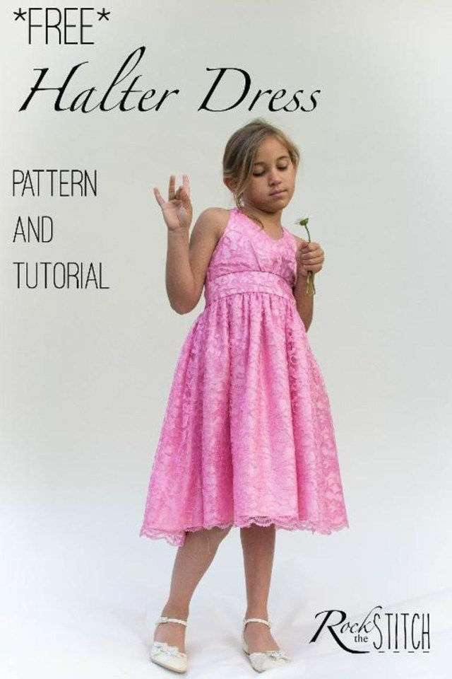 Beginner Sewing Patterns 8 Adorable Free Little Girl Dress Patterns Applegreen Cottage