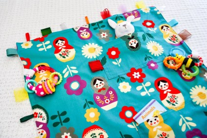Blanket Sewing Patterns Diy Diy Travel Ba Blanket With Attached Toys Free Sewing Pattern