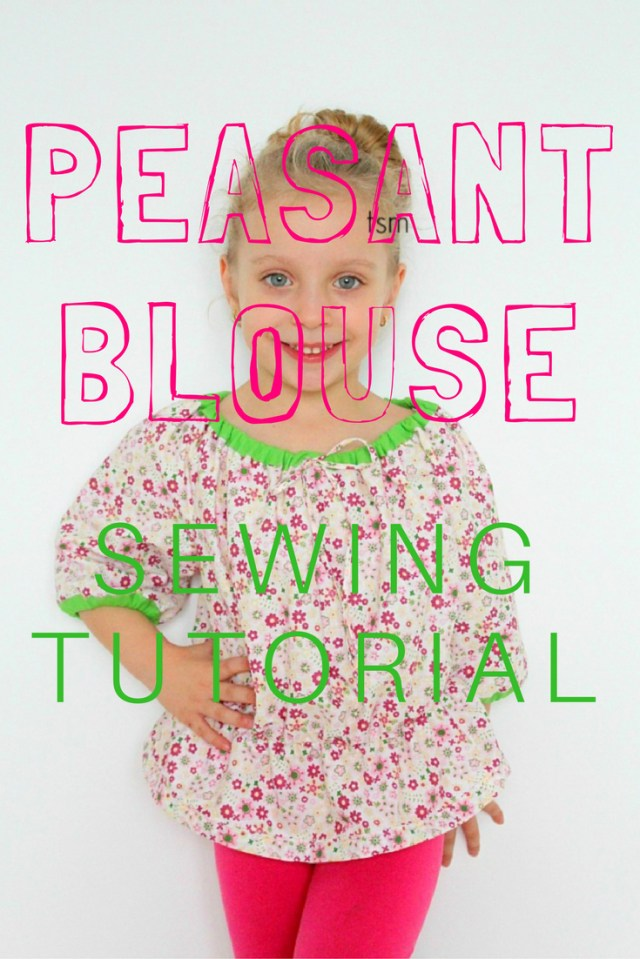 Blouse Sewing Patterns Peasant Top Pattern Easy Sewing Patterns For Beginners