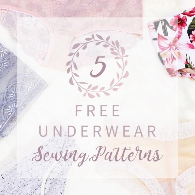Bra Sewing Patterns 5 Free Underwear Sewing Patterns Bra Underwear Kit Giveaway