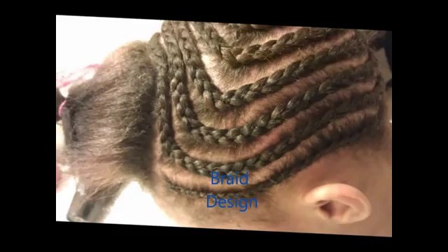 Braid Pattern For Middle Part Sew In Middle Part Sew In Tutorial Youtube