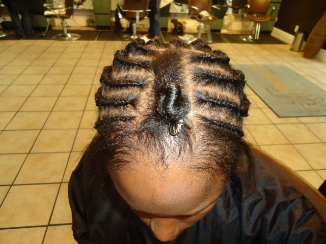 Braid Pattern For Middle Part Sew In The Socialite Life My New Hairstylenew Hair Packaging And Braid