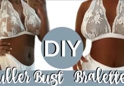 Bralette Sewing Pattern Plus Size Diy Lace Bralette For Fuller Bust Pattern Magdelineg Youtube