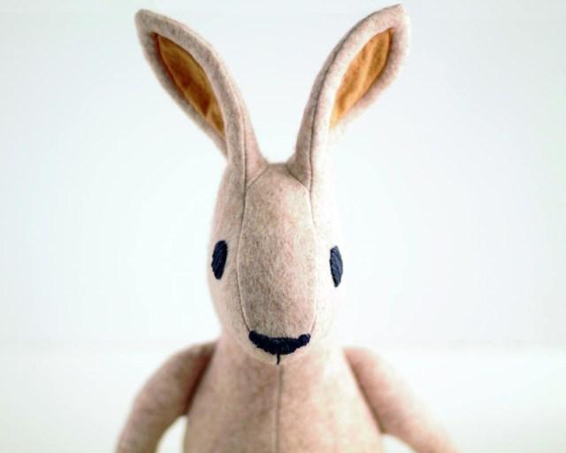 Bunny Sewing Pattern Irish Hare Bunny Rabbit Pattern Pdf Sewing Pattern Tutorial For