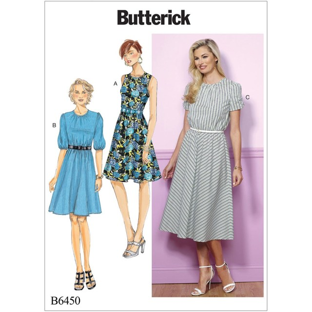 Butterick Sewing Patterns Misses And Misses Petite Gathered Blouson Dresses Butterick Sewing