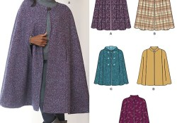 Capelet Pattern Sewing New Look 6073 Misses Jackets Coats Sewing Patterns Pinterest