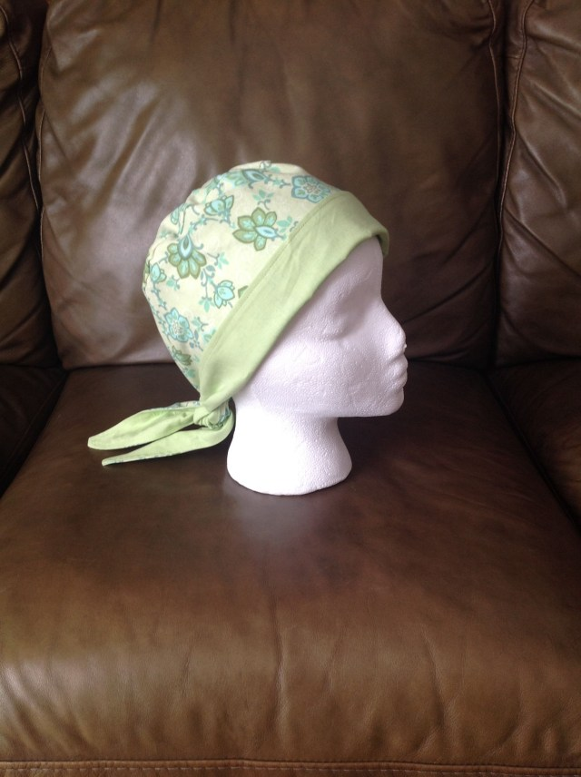 Chemo Caps Sewing Patterns Reversible Chemo Hat I Made With Free Pattern Found At Brimming With