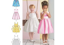 Childrens Sewing Patterns Girls Dress Simplicity Sewing Pattern 8351 Sew Essential