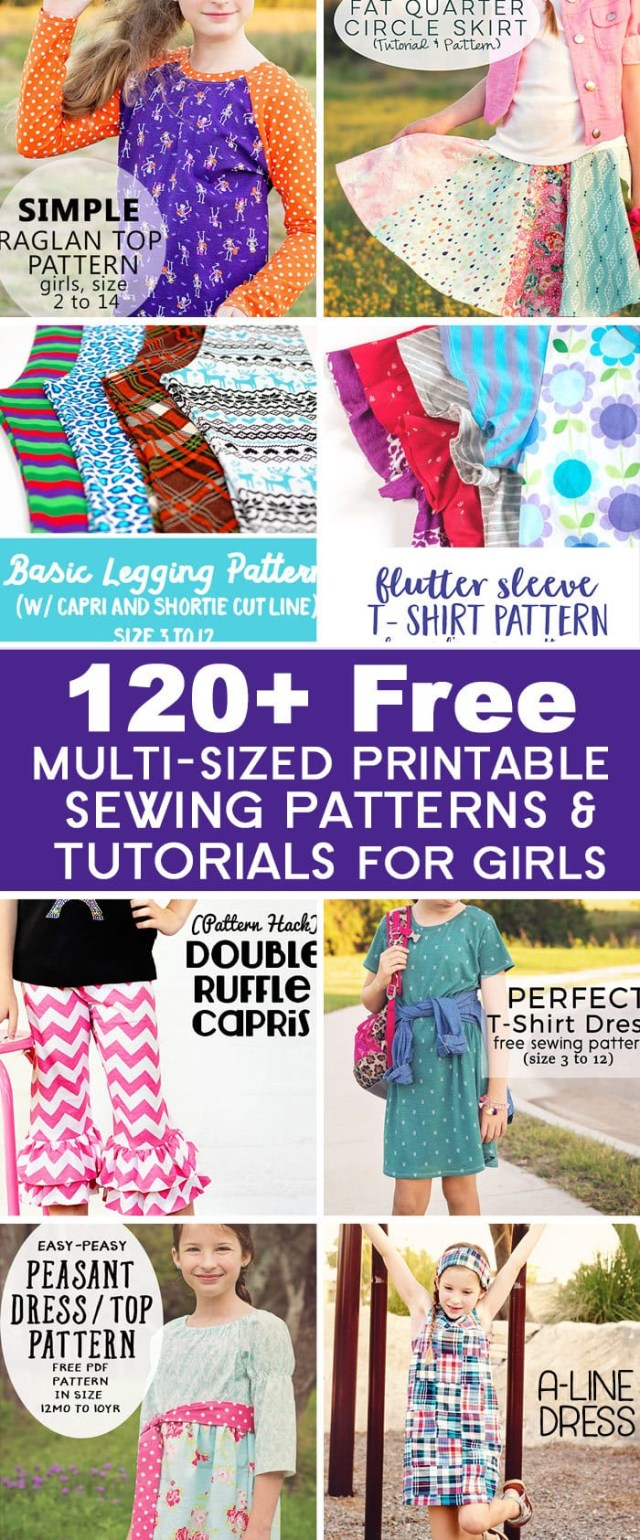 Childrens Sewing Patterns Girls Sewing Tutorial Archives Scattered Thoughts Of A Crafty Mom