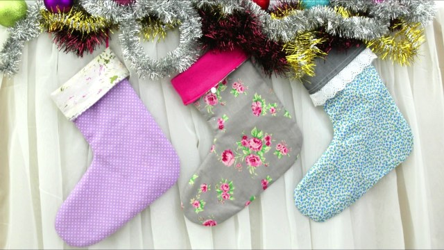 Christmas Stocking Sewing Pattern Christmas Stocking Sewing Pattern Youtube