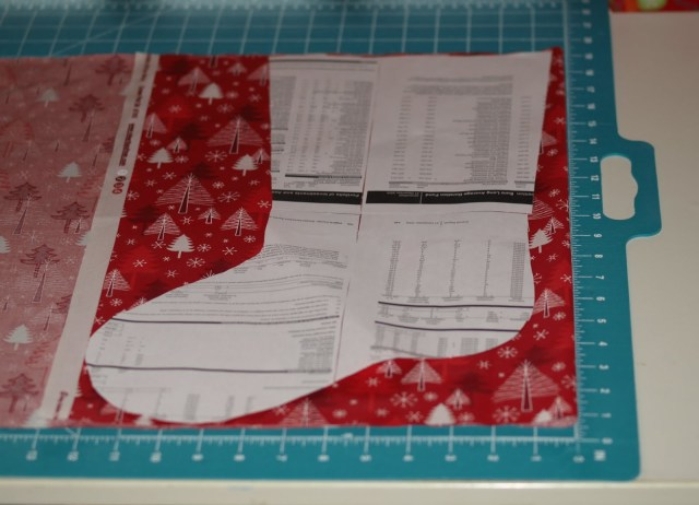 Christmas Stocking Sewing Pattern Christmas Stocking Tutorial Fabricworm