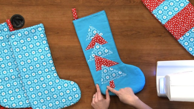 Christmas Stocking Sewing Pattern How To Make A Christmas Stocking National Sewing Circle Youtube